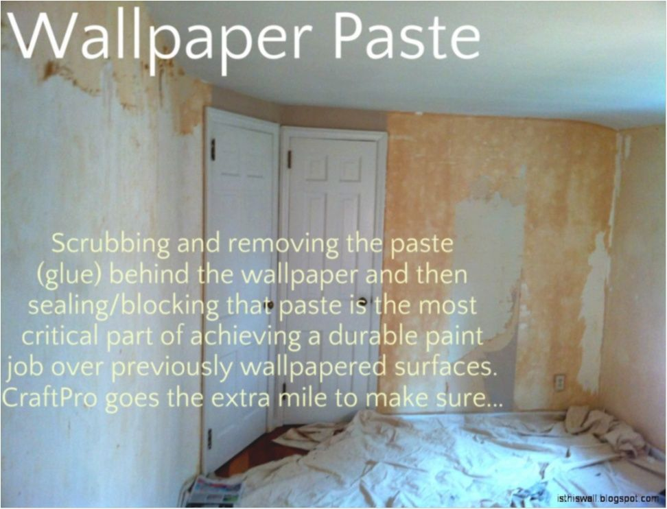 How To Remove Wallpaper Backing From Wall