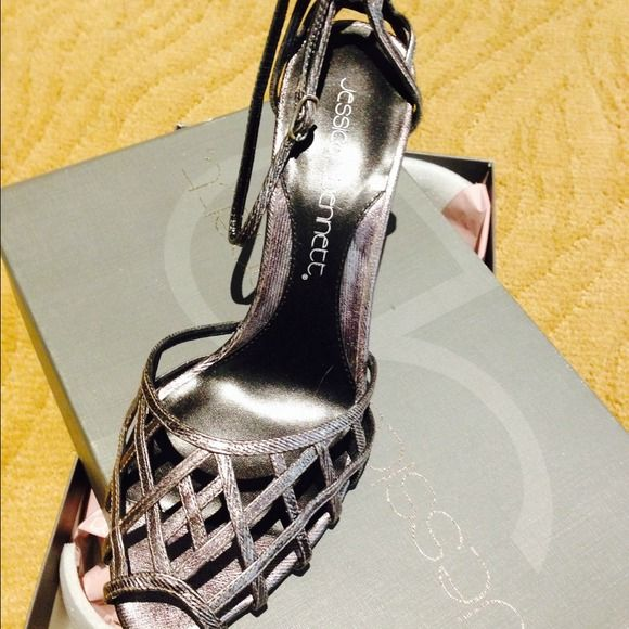 Gorgeous dress sandals...JESSICA BENNETT Stunning!!! Brand new!!! Jessica Bennett Shoes Sandals