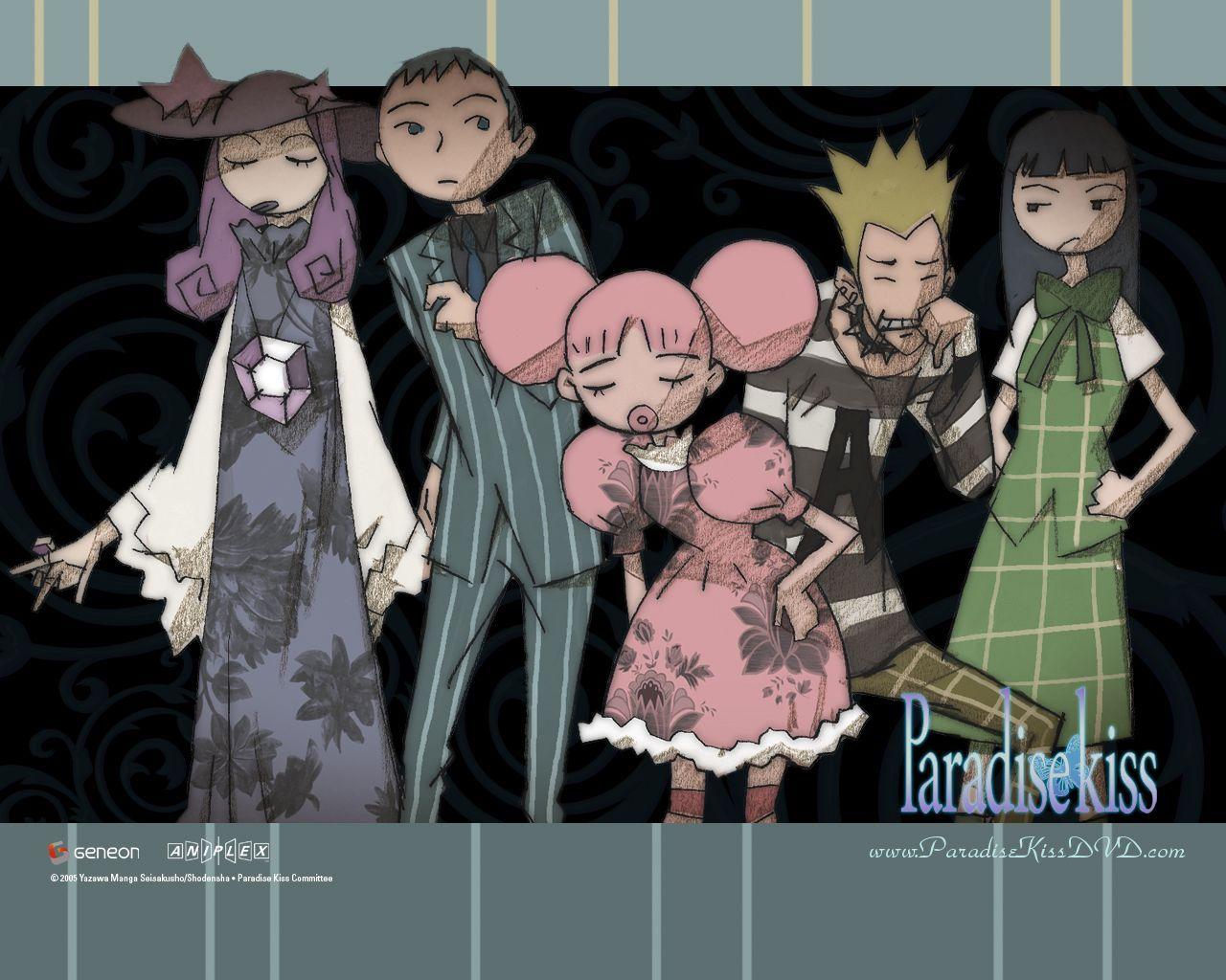 Tags Paradise Kiss Wallpaper Scan Yazawa Ai Nagase Arashi
