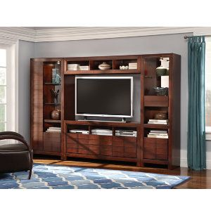 Linden Entertainment Media Centers Art Van Furniture