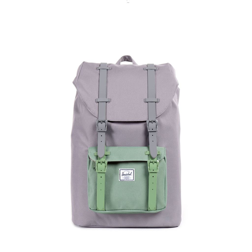 Little America Backpack Mid-Volume in grey foliage   Herschel Supply ... fbaeb1e7bb