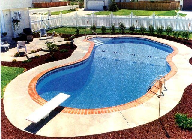 Mountain pond 3 inground pool outdoor space pinterest for Kenny pool design