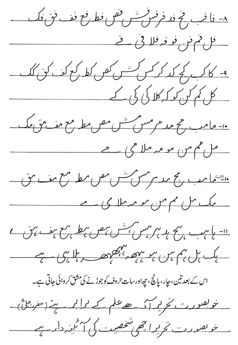 Workbooks www.handwriting worksheets.com : Urdu Handwriting | Khattati & Calligraphy in Pakistan | Urdu ...