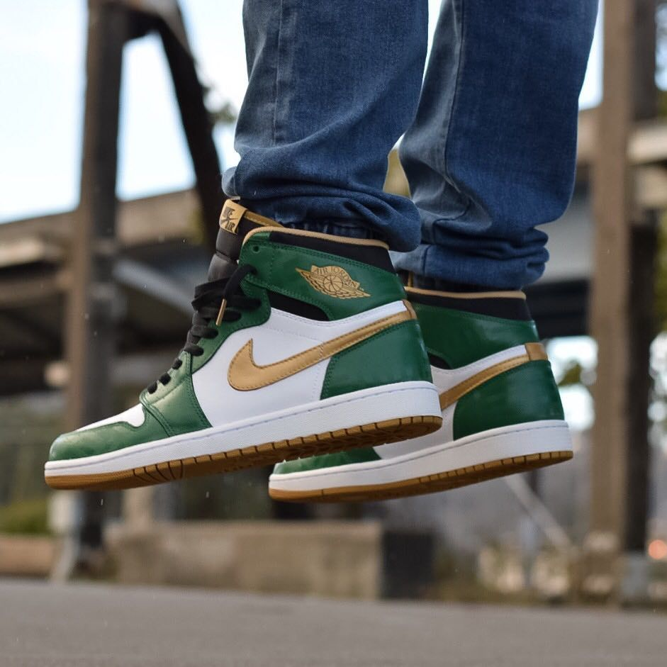 Air Jordan 1 Retro High 'Boston Celtics'