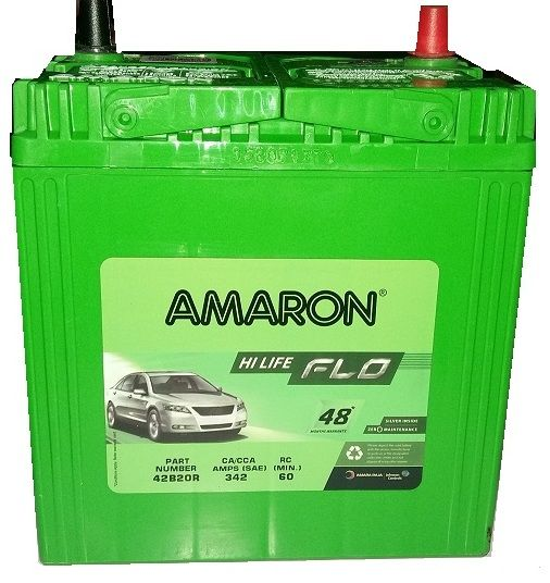 Looking Amaron Car Battery Price For 42B20R On Online