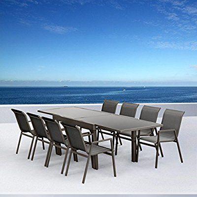 Salon de jardin aluminium Marbella: Amazon.fr: Jardin | Bon pour ...