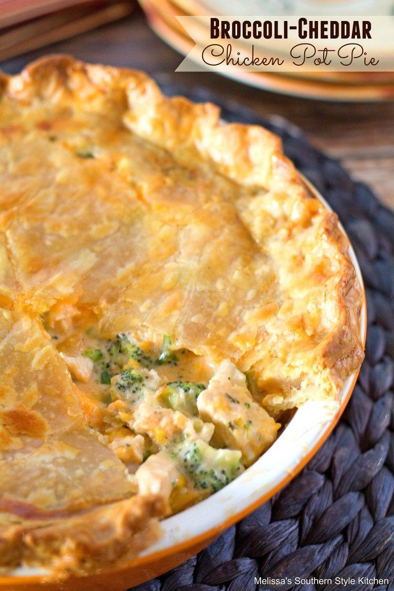Broccoli Cheddar Chicken Pot Pie | BHG @Home Blogger ...
