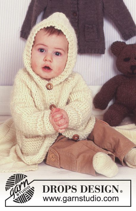 Baby It's Cold Outside / DROPS Baby 11-27 - Free knitting patterns by DROPS Design
