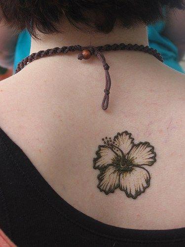 Hibiscus Flower Tattoo Design Tattoo E Card Postcard Photo Pics Black Hibiscus Flower Tattoo Hibiscus Tattoo Classy Tattoos Henna Tattoo Designs