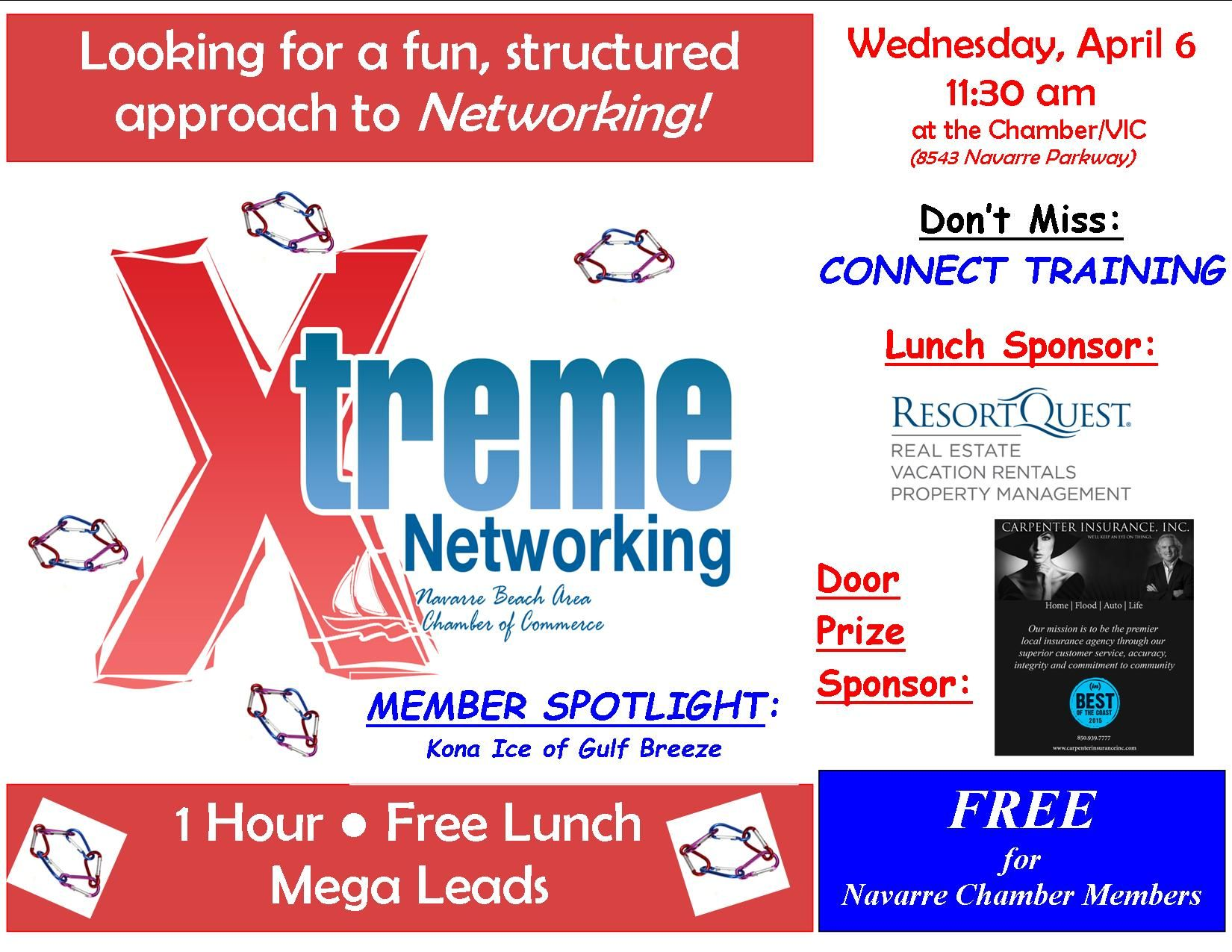 All Navarre Chamber Members Are Invited To Attend Xtreme