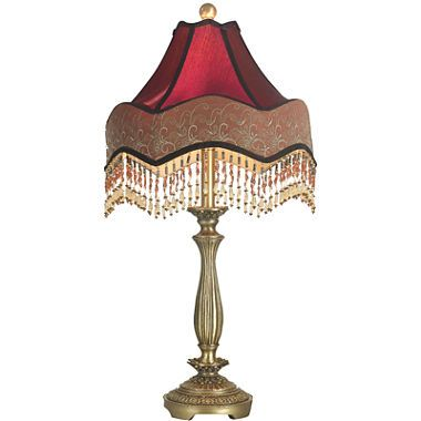 Jcpenney Com Dale Tiffany Beaded Ruby Table Lamp Tiffany