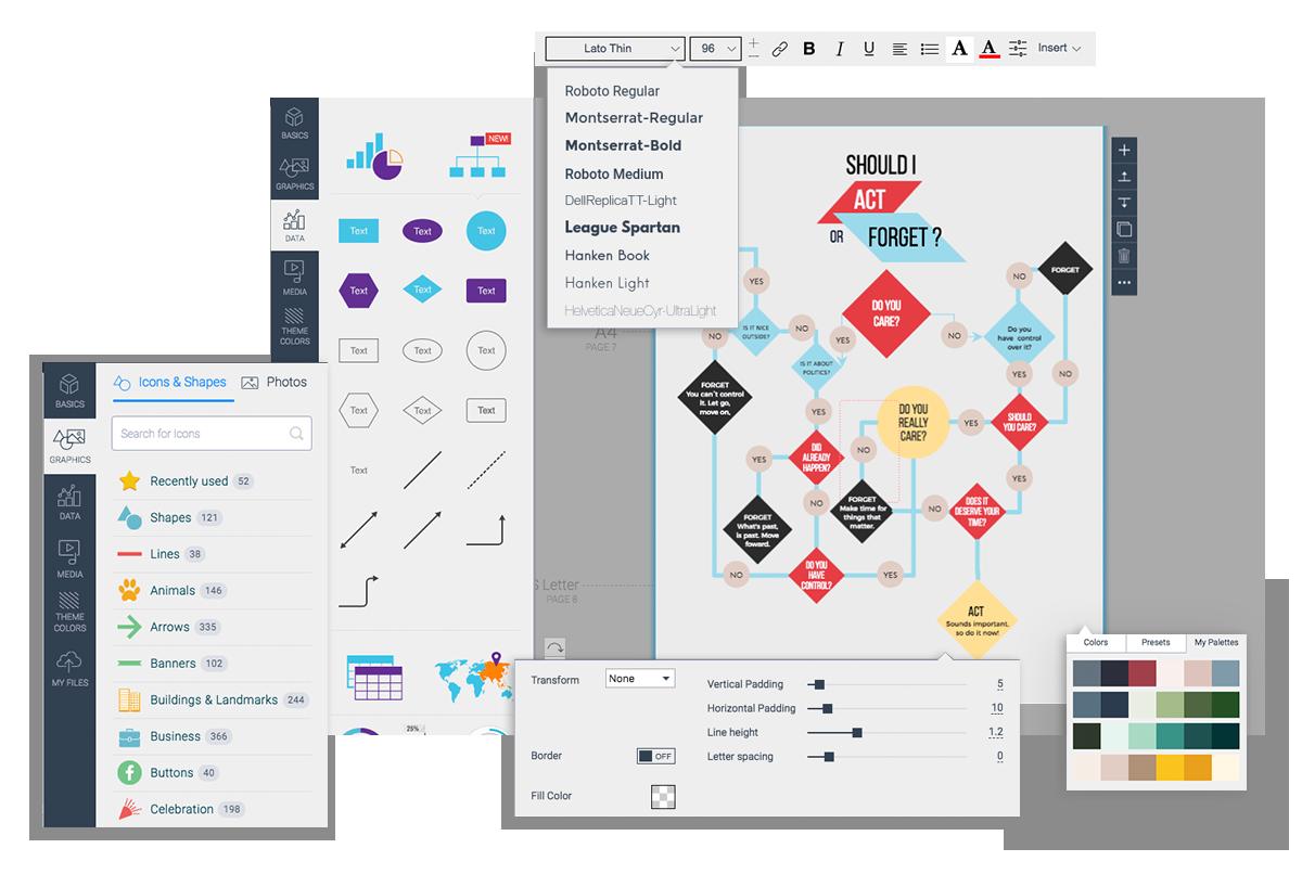 Free Online Flowchart Maker Create Flowcharts Online Workflow Diagram Flow Chart Diagram Design