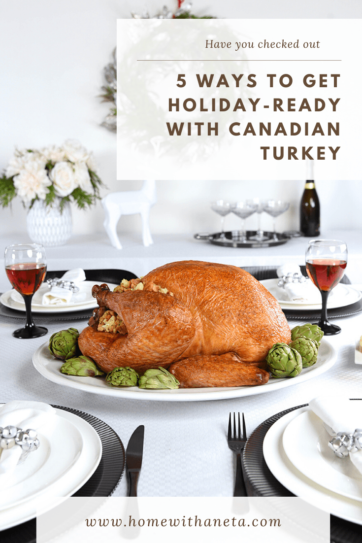Entertain with Canadian Turkey + Recipe + 75 Amazon.ca