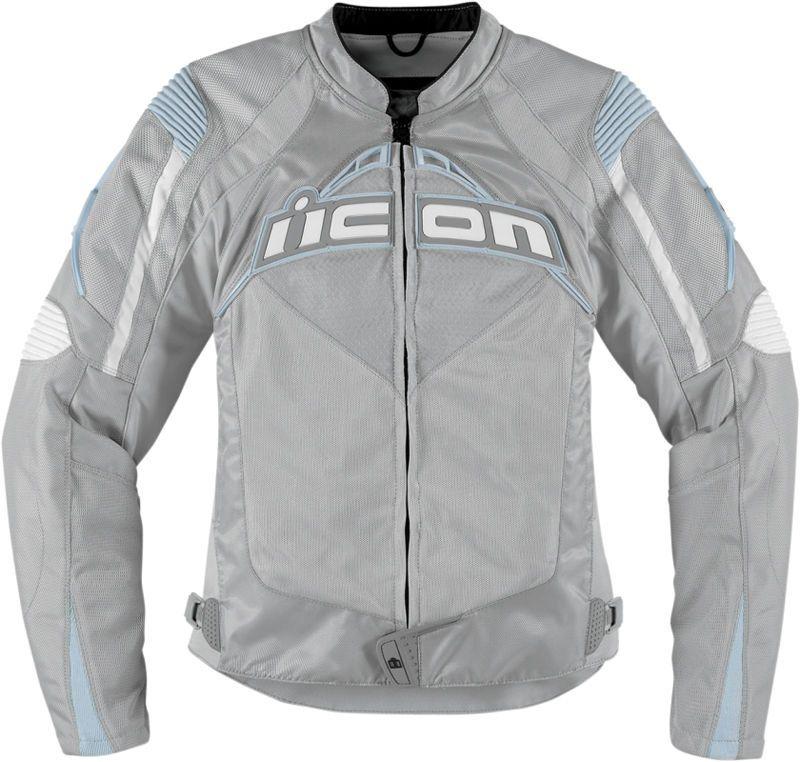 Black Choose Size ICON Contra Textile Motorcycle Jacket