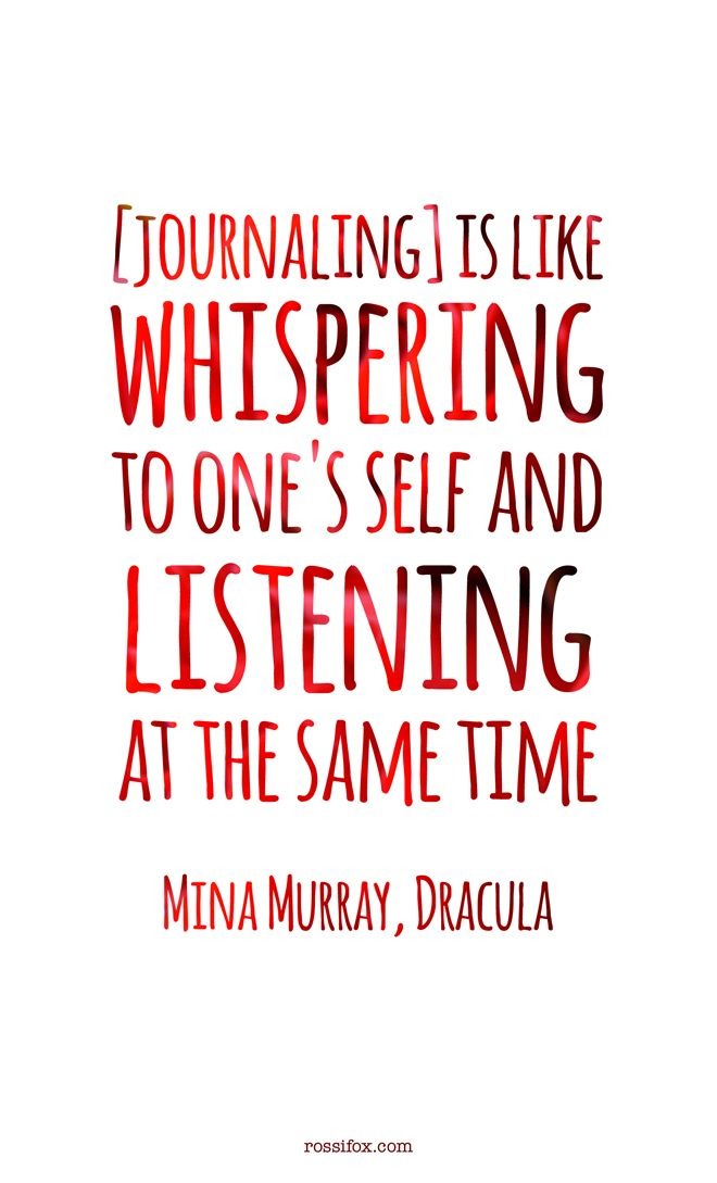Journaling Is Like Whispering To One's Self And Listening At The Interesting Quotes Journal