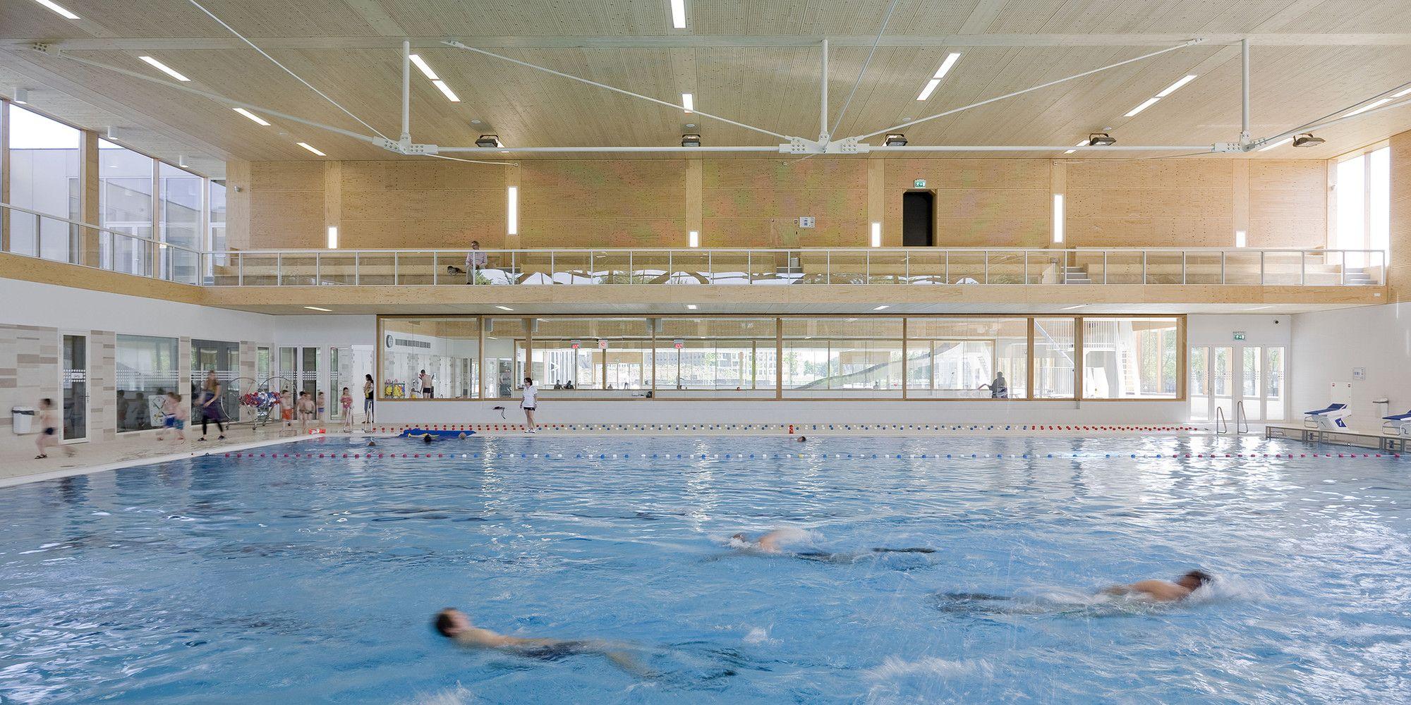 Gallery Multifunctional Swimming Pool Complex De Geusselt Slangen Koenis Architects 8 Pool Swimming Pools Swimming Pool Architecture