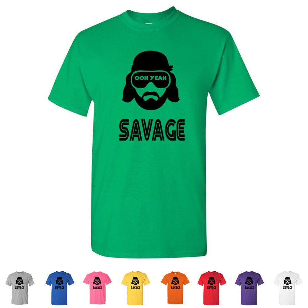 Details About Macho Man Randy Savage Funny Wwe Tees Hilarious Retro Wrestling Mens T Shirts Macho Man Randy Savage Funny Shirts Mens Tshirts