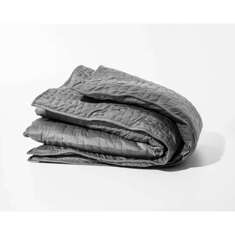 Cooling Weighted Blanket Duvet Cover Gray Gravity Cooling