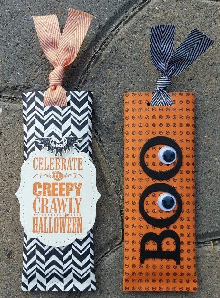 Halloween candy bar slider Halloween paper crafts