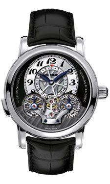 93ab81882a3 Montblanc 102336 Nicolas Rieussec Chronograph Automatic Watch ...