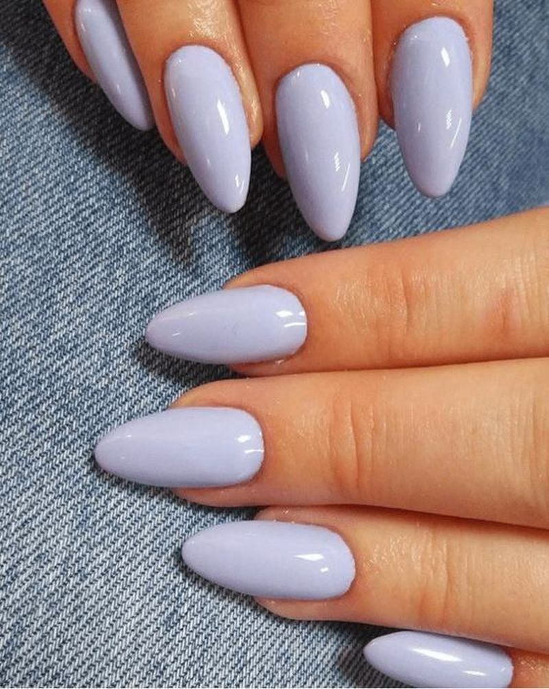 50 Wonderful Summer Nail Colors Of 2020 In 2020 Almond Nails Designs Fall Manicure Perfect Nails