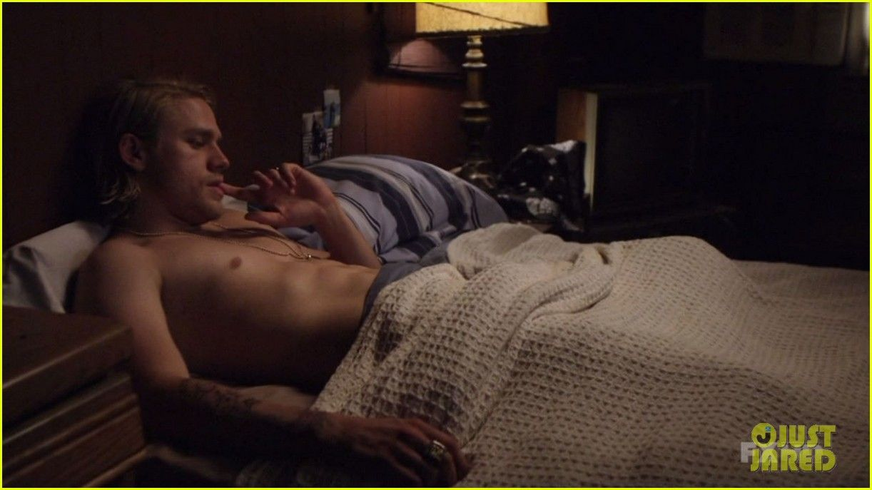 of Charlie anarchy sons nude hunnam