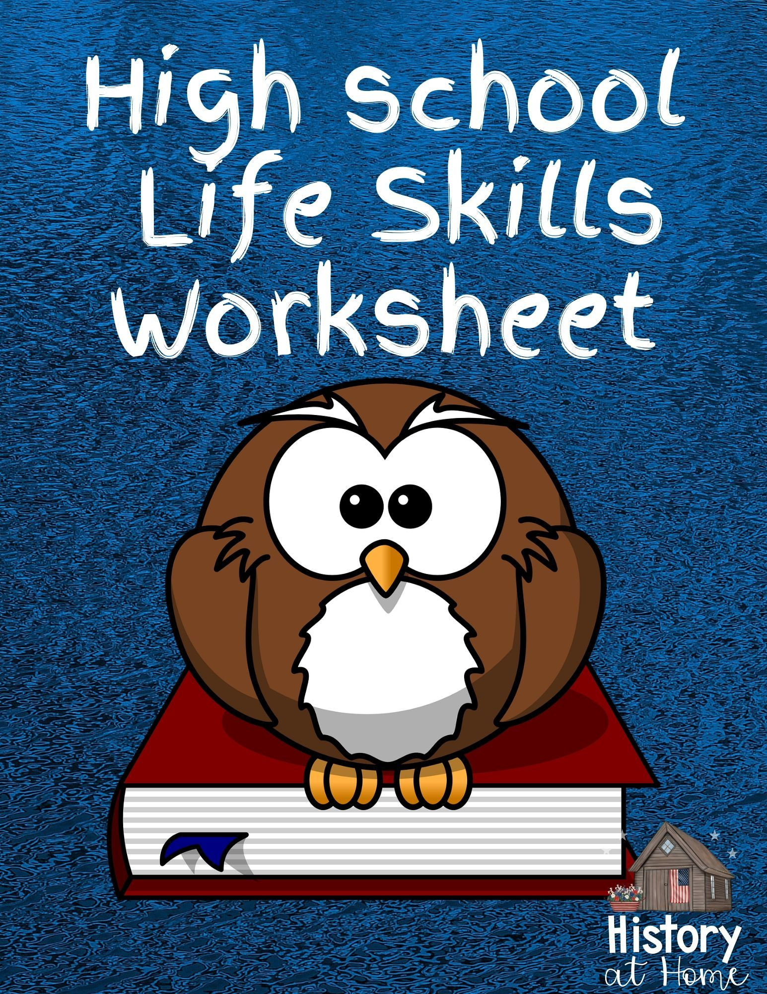 High School Life Skills Worksheet Free For 9 12th Grades