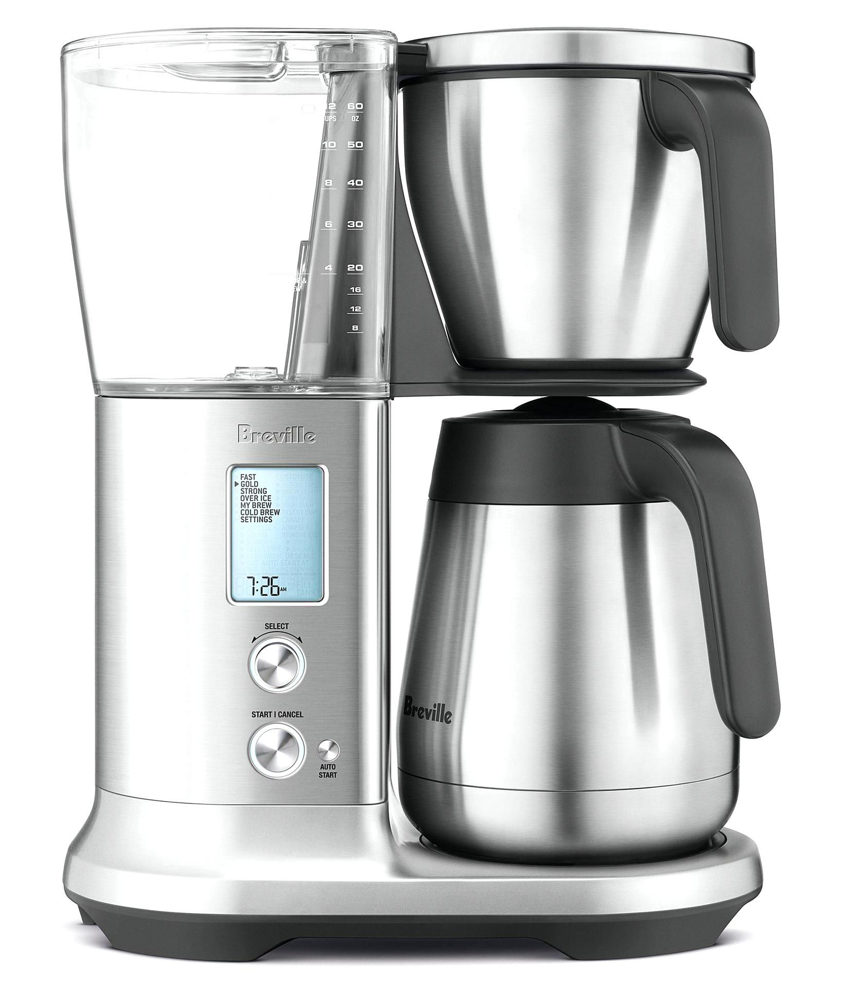From Breville X2c The Precision Brewer Thermal Coffee Maker Features6 Preset Modes Include Gold Cup Certified By Sca X2c Pre In 2020 Breville Glass Carafe Coffee Maker