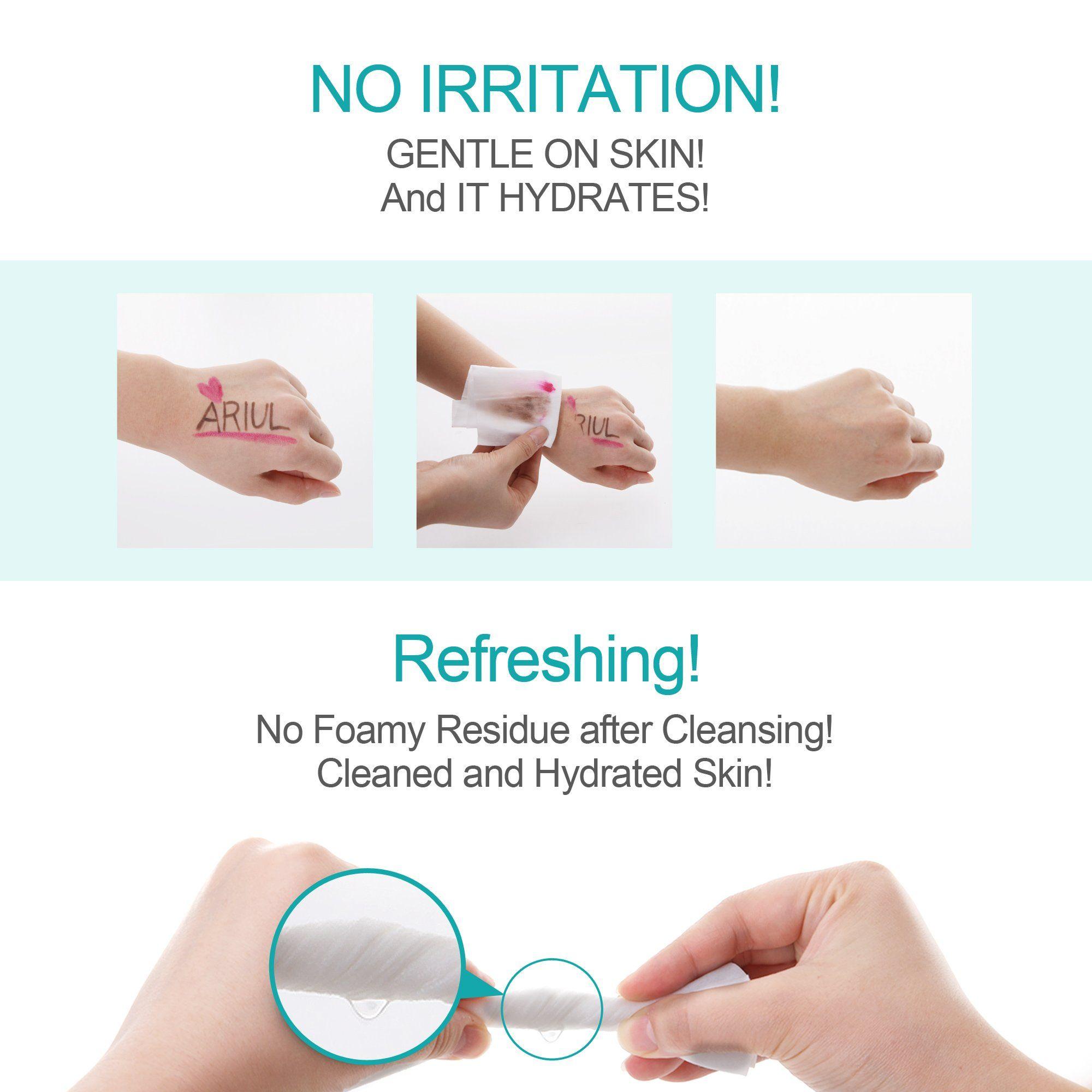 Ariul Stress Relieving Purefull Cleansing Tissue Makeup