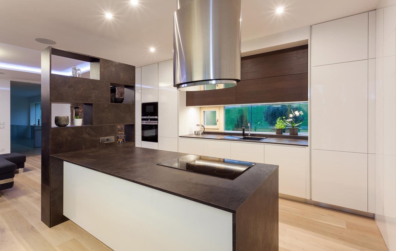 Modern European Kitchen Design Modern Kitchen Design With Two Toned Cabinets From Hans Krug