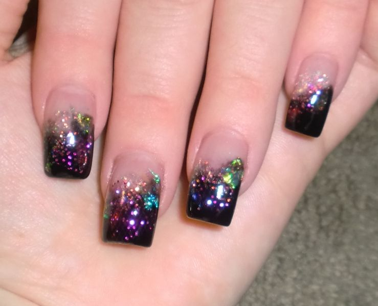 Glitter Acrylic Nails Designs And Ideas Nail Design 2014 Amazing