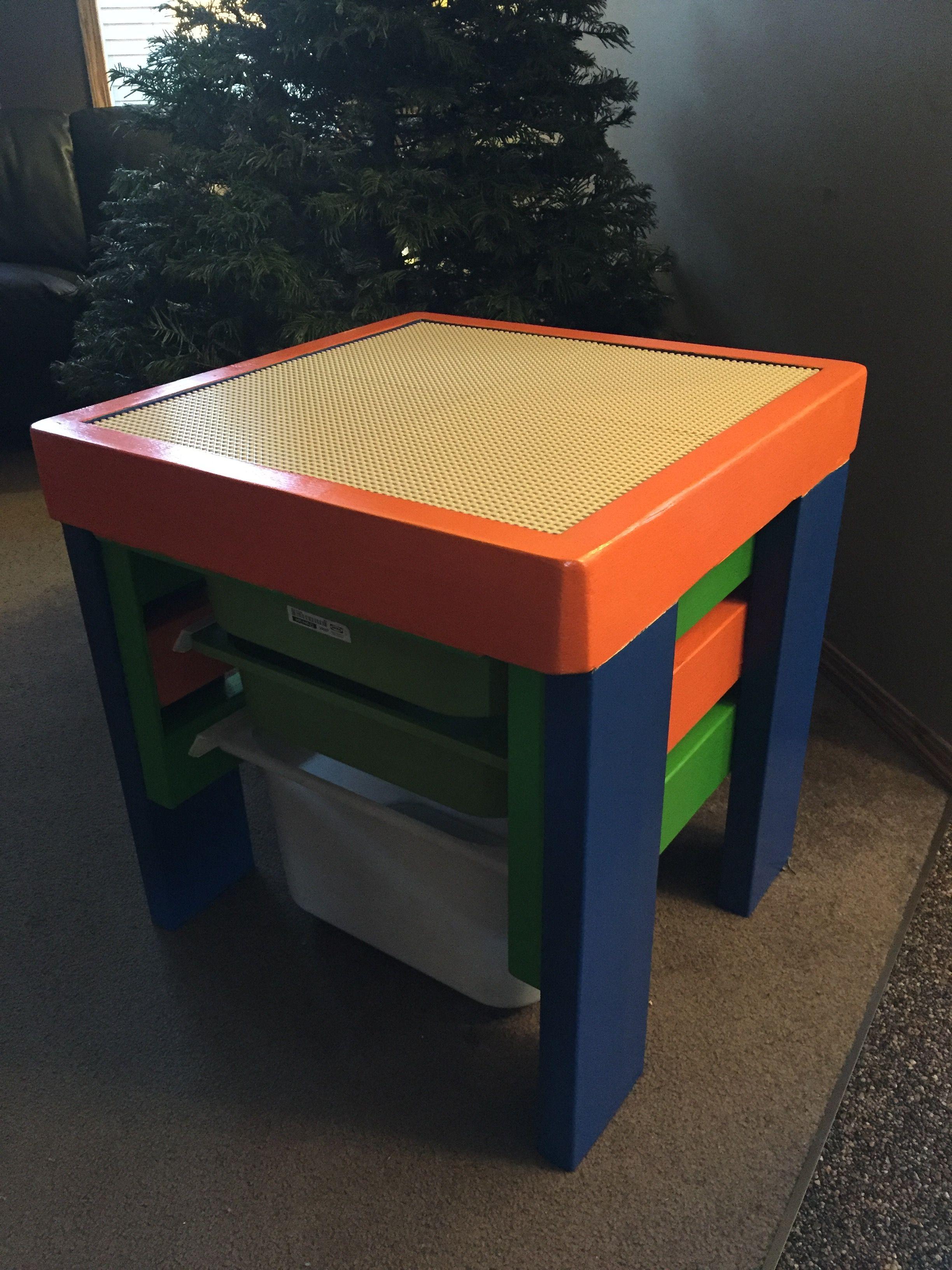 Custom LEGO Table For Nephew Teves!