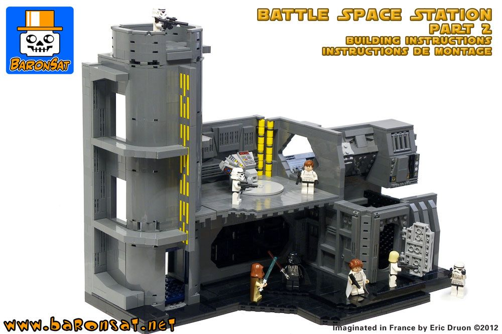 Death Star Instructions Part 1 Pinterest Death Star Death And Lego