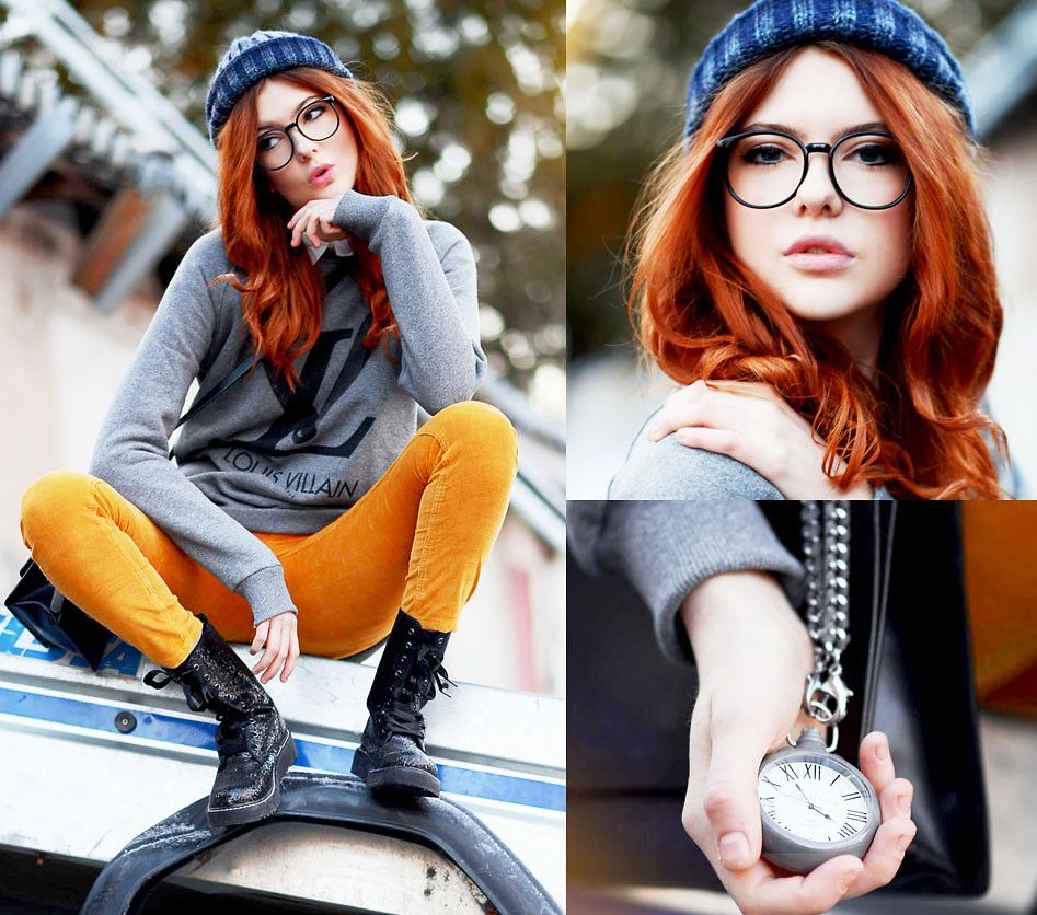 Little monster my style pinterest december redheads and