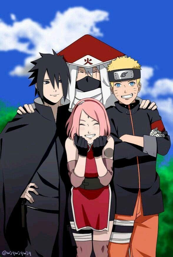 Pin by Kaysaa Kaede on Team 7   Naruto sasuke sakura, Naruto and sasuke, Naruto shippuden sasuke