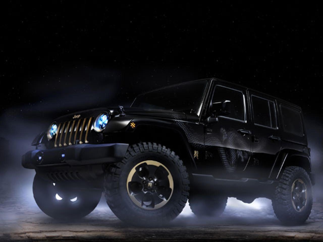 Jeep Wrangler Dragon Premieres In China Jeep Wrangler 2014 Jeep Wrangler Custom Jeep Wrangler
