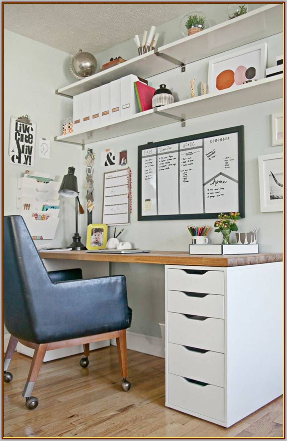 Furnish Your Home Office Decor With These Tips And Tricks Modern Interior Design Small Bedroom Ikea