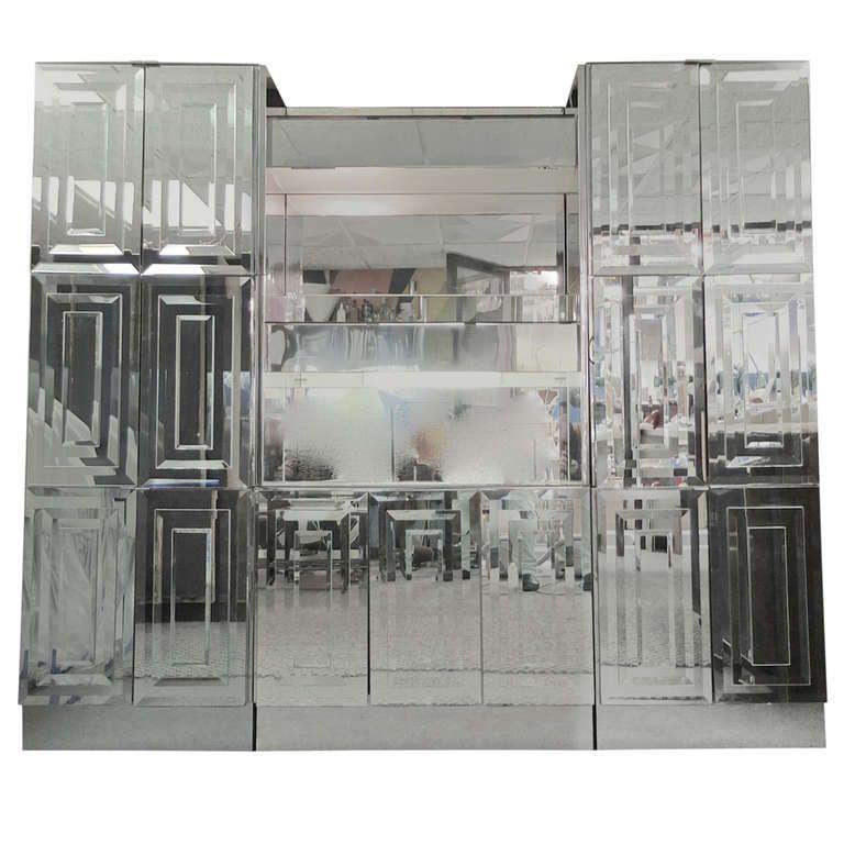 ello mirrored u0026 illuminated display cabinet u0026 bar dry barswood