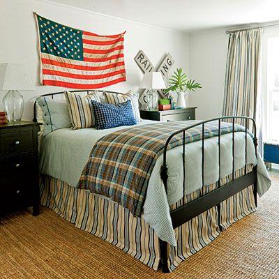Best Farmhouse Restoration Idea House Tour Americana Bedroom 400 x 300