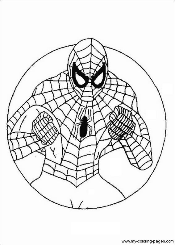 Spiderman-Coloring-Page | Printables | Pinterest