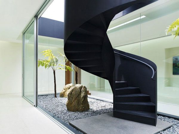 Enchanting Feng Shui Notes Remarkable Jkc 1 House In Singapore Staircase Design Interior Staircase House Deck