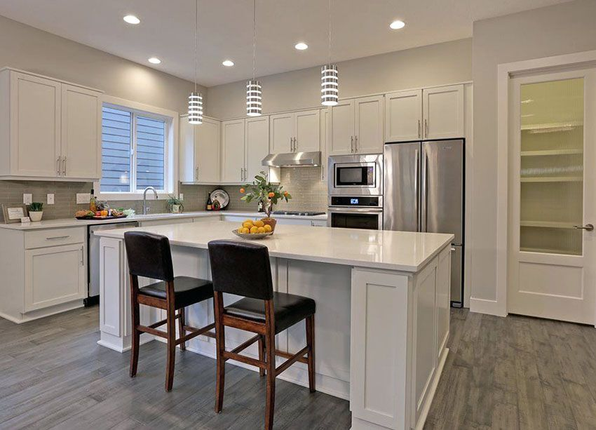 57 Beautiful Small Kitchen Ideas Pictures White Contemporary Kitchen Contemporary Kitchen Design Contemporary Kitchen