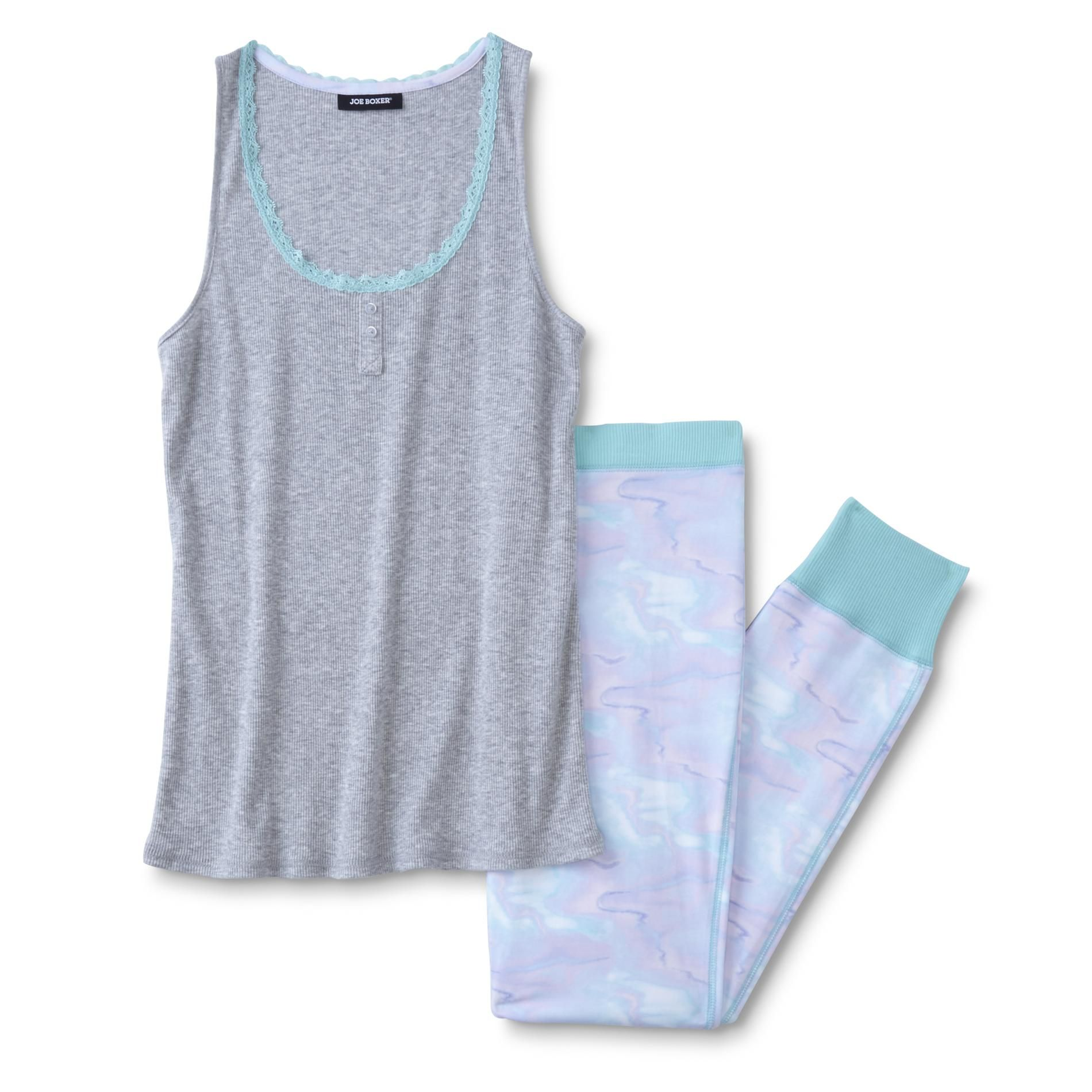 975d36193a6 Joe Boxer Women s Pajama Tank Top   Pants - Watercolor