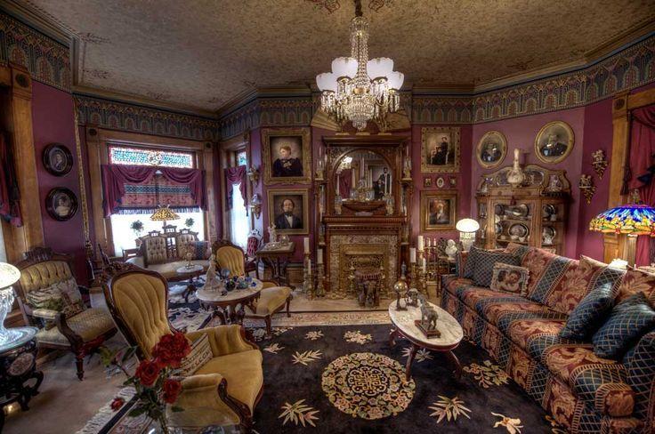 Victorian Parlor Victorian Parlor Interior Victorian Decor