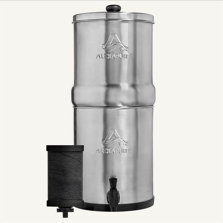 Alexapure Pro Filter Replacement 1 Filter Pack Black Water Filtration System Water Filtration Water Filter