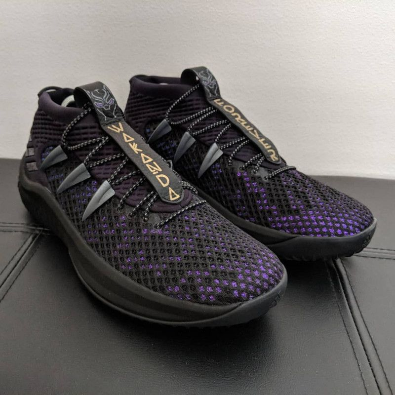 """This """"Wakanda Forever """" DAME 4 Feature a """"Vibranium Upper"""
