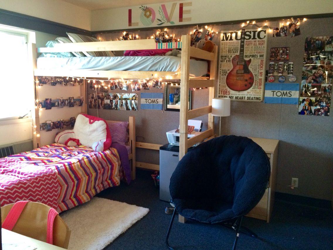 Superior Dorm Room At Eastern University :) Triple