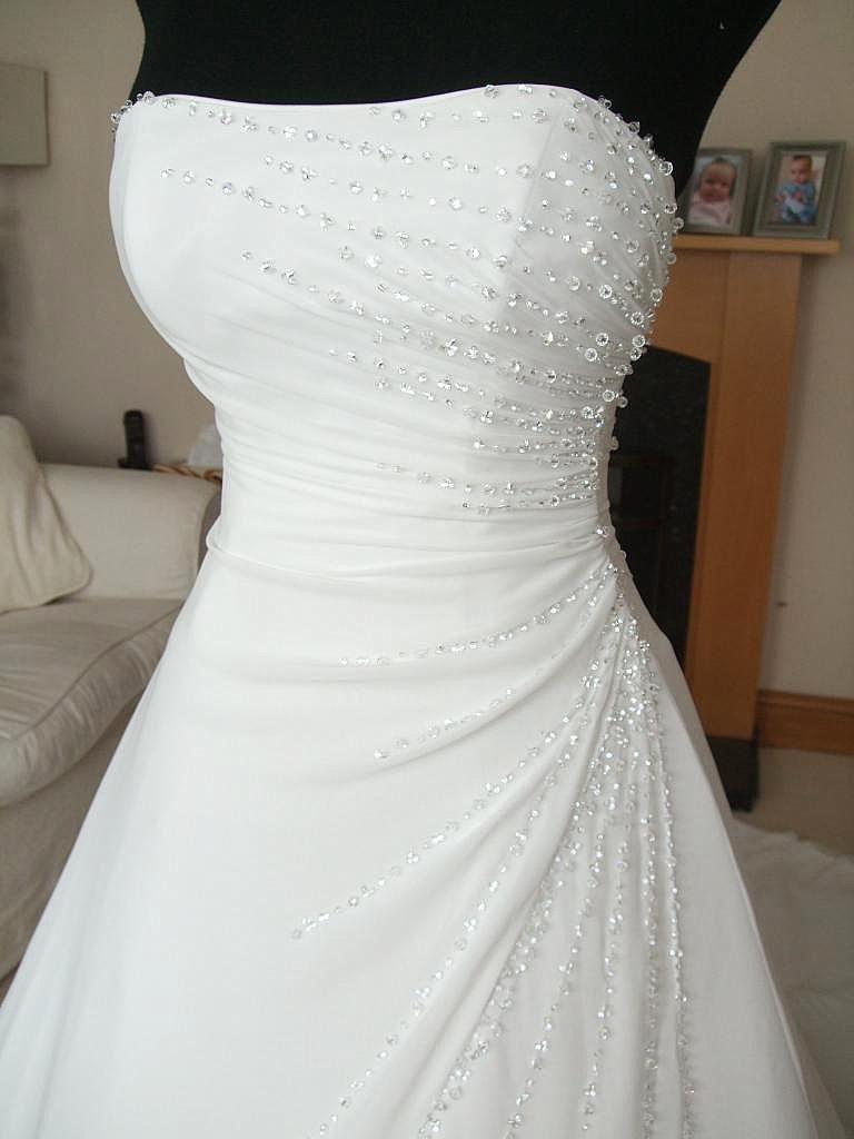 Maggie Sottero Size 14 16 Martina Swarovski Crystal Wedding Dress Diamond White Ebay Hermosos Vestidos De Novia Vestidos De Novia Strapless Vestidos De Novia