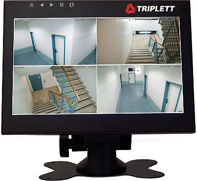 surveillance monitors displays triplett hdcm2 7 inch hd led monitor