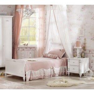 17541029ebdc0 Detská posteľ 90x190 cm standard Romantic | Domov crochet | Bed ...
